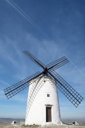 castilla la mancha: windmill in Consuegra, Toledo, Castilla La Mancha, Spain