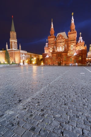 State History Museum in Red Square, Moscow, Russia photo