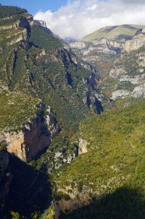 anisclo: Anisclo Valley, Ordesa national Park, Pyrenees, Huesca, Aragon, Spain Stock Photo