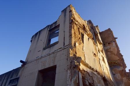 bombing: Belchite village destroyed in a bombing during the Spanish Civil War, Saragossa, Aragon, Spain Editorial