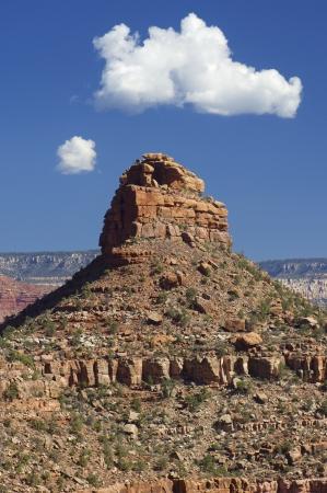 pin�culo: Rocky cima en el Parque Nacional del Gran Ca��n, Arizona, Estados