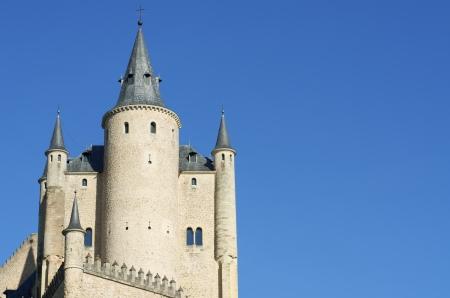 castilla leon: crellated tower in the Alcazar of Segovia, Castilla Leon, Spain