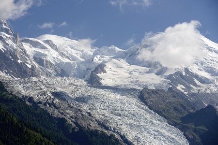 Mont Blanc, Mont Blanc Massif, Chamonix, Alps, France photo