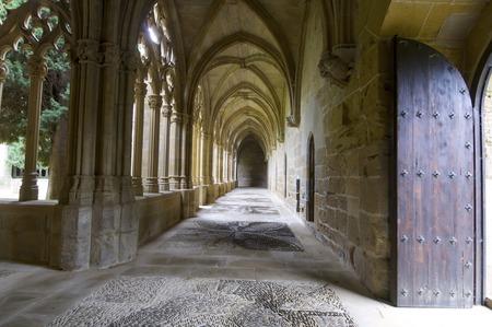 navarra: Cistercian monastery of Oliva, Carcastillo, Navarra, Spain. Editorial