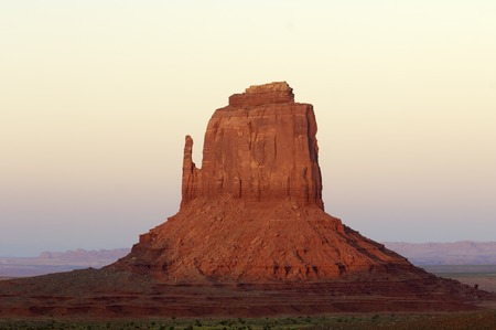 tribal park: Sandstone tower in Monument Valley, Navajo Tribal Park, Usa