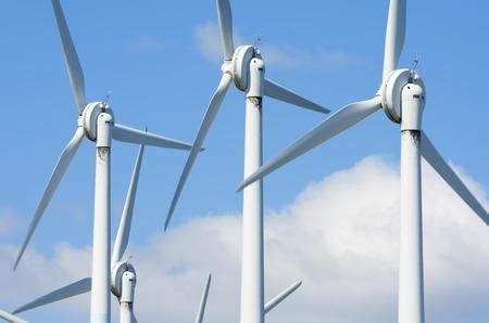 aras: windmills for clean energy production renewable electric, Aras, Navarre, Spain