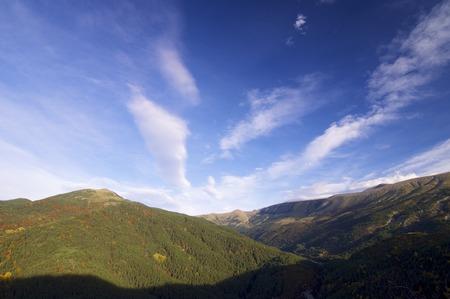 Hills in Vio Valley, Pyrenees, Huesca, Aragon, Spain Banco de Imagens