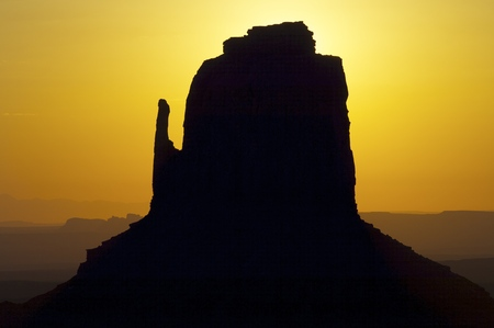 Tower in Monument Valley, Navajo Tribal Park, Utah, Usa photo