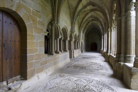 navarra: Cistercian monastery of Oliva, Carcastillo, Navarra, Spain. Stock Photo