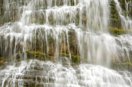 Cola de Caballo waterfall in Ordesa National Park, Pyrenees, Huesca, Aragon, Spain photo