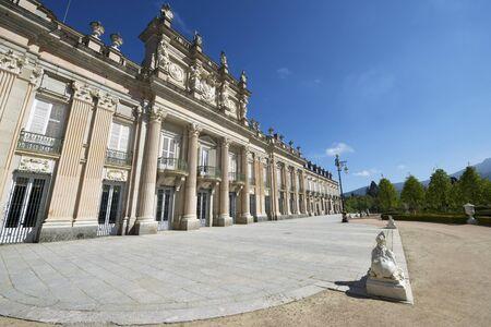 castilla leon: Granja de San Ildefonso Palace, Segovia, Castilla Leon, Spain