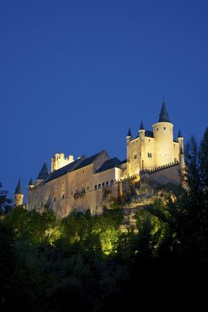 castilla leon: Alcazar of Segovia, Castilla Leon, Spain