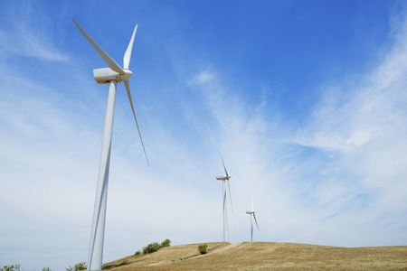windturbine: group of windmills for renewable electric energy production
