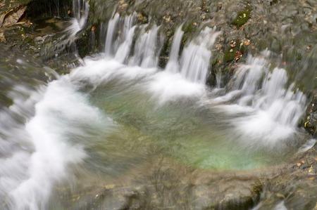 waterfal in Ordesa national Park, Pyrenees, Huesca, Aragon, Spain photo
