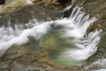 ordesa: waterfal in Ordesa national Park, Pyrenees, Huesca, Aragon, Spain Stock Photo