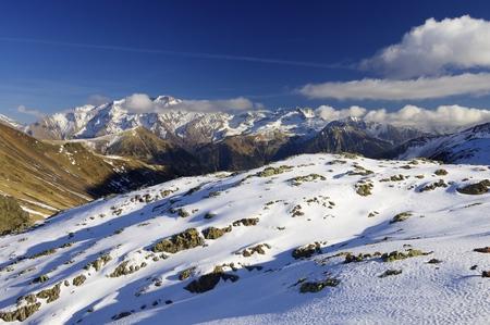 aragon: Posets peak, 3375 m., in Pyrenees mountains, Huesca, Aragon, Spain