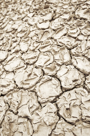 Background in high resolution created with drought land. Stock Photo