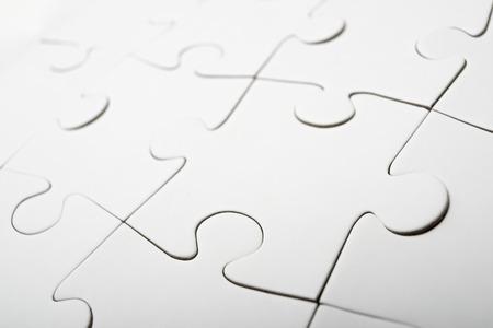 piezas rompecabezas: Close up de las piezas de un rompecabezas