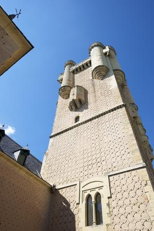 castilla leon: Tower in the Alcazar of Segovia, Castilla Leon, Spain