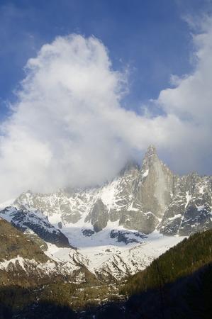 massif: Dru Peak, Aiguilles du Chamonix, Mont Blanc Massif, Alps, Chamonix, France