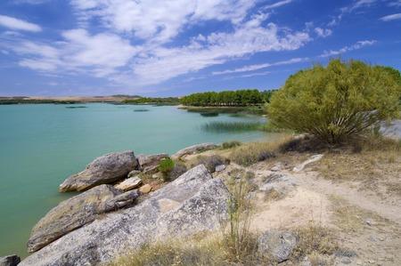 aragon: Alcaniz Lake in Teruel, Aragon, Spain.