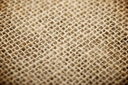 hessian: Close up of natural burlap hessian sacking.