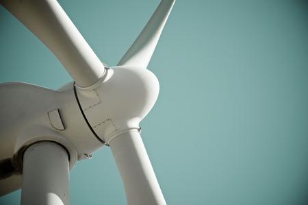 Windmill for electric power production Pozuelo de Aragon Zaragoza Province Aragon Spain.