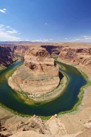 Horseshoe Bend in Colorado river, Arizona, United States photo