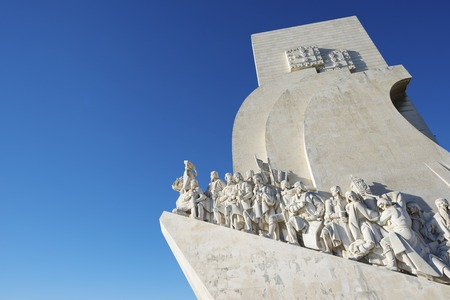 discoverer: Monument to the Discoveries of New world, Belem, Lisbon, Portugal.