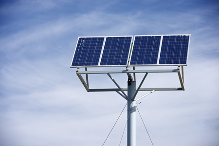 photovoltaic panel: Photovoltaic panel for renewable energy production.