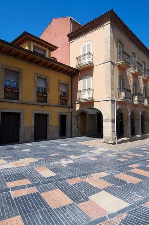 aviles: Buildings in Aviles, Asturias, Spain. Editorial