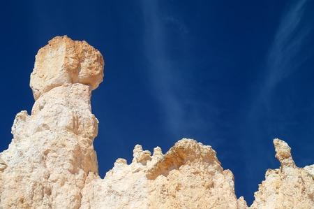 pinnacle: Pinnacle in Bryce Canyon National Park, Utah, Usa Stock Photo