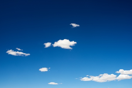 clear blue sky: background in high resolution created with sky detail. Stock Photo