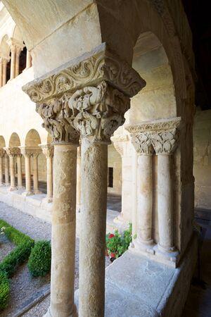bourgeois: Cloister of Santo Domingo de Silos, Burgos, Castilla Leon, Spain.