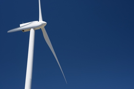 castilla leon: Windmill for electric power production, Burgos Province, Castilla Leon, Spain.