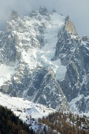 aiguille: Aiguille du Plan, 3673 m, Aiguilles du Chamonix, Mont Blanc Massif, Alps, Chamonix, France