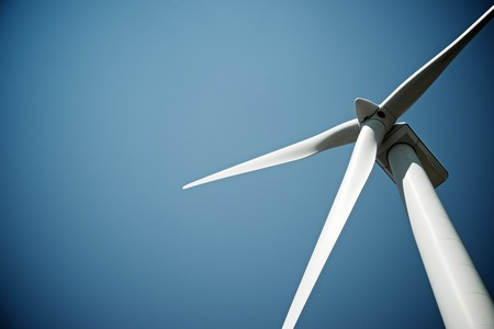 windmills: Windmill for electric power production, Burgos Province, Castilla Leon, Spain.