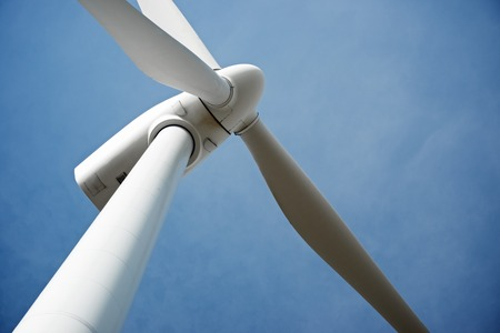 電力生産、ポスエロ ・ デ ・ アラゴン サラゴサ州、アラゴン州、スペインの風車。