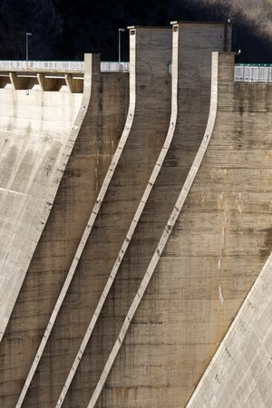 hydroelectric: Hydroelectric dam for electricity production, Pyrenees, Spain.