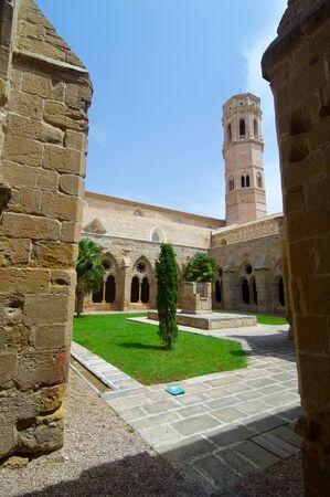 aragon: Rueda Cistercian monastery, XIII century, Escatron, Zaragoza, Aragon, Spain.