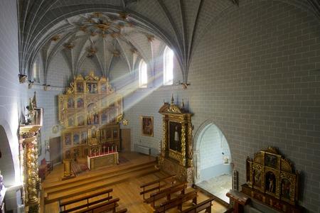 lightrays: Asuncion Church in Sallent de Gallego, Huesca, Spain.