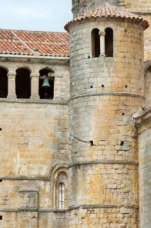 juliana: Colegiata of Santa Juliana, Santillana del Mar, Cantabria, Spain Stock Photo