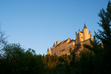 segovia: Alcazar of Segovia, Castilla Leon, Spain
