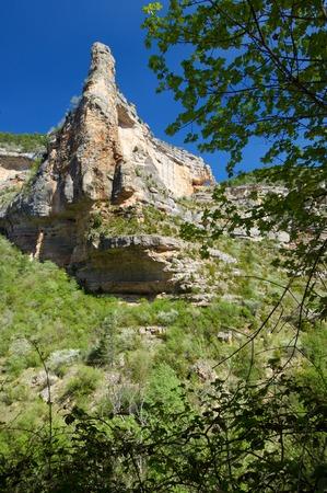 aragon: Pitarque mountains, Teruel, Aragon, Spain. Stock Photo