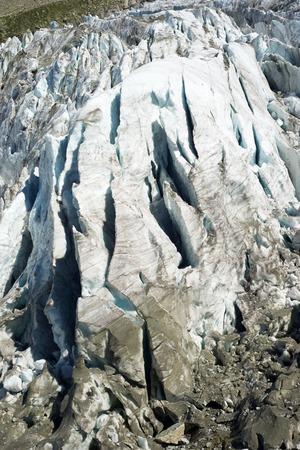 blanc: Argentiere Glacier view, Chamonix, Mont Blanc Massif, Alps, France Stock Photo