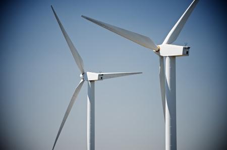 castilla leon: Windmills for electric power production, Burgos Province, Castilla Leon, Spain.