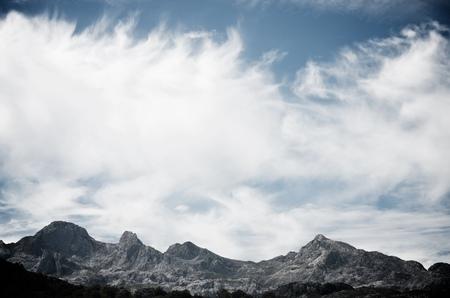 picos: Peaks in Picos de Europa National Park, Asturias, Spain.