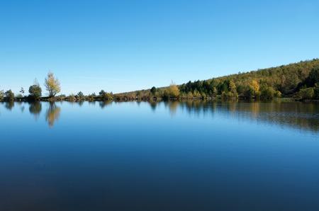 zaragoza: Lake in Moncayo Natural Park, Zaragoza, Aragon, Spain.