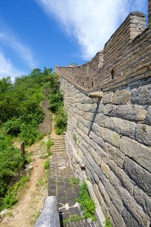 simatai: view of the Simatai Great Wall of China, Beijing, China
