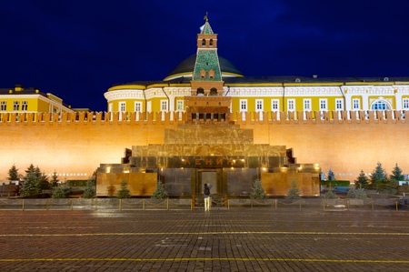 winning location: Lenin mausoleum in Red Square, Moscow, russia